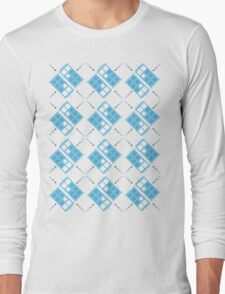 Gallifrey Argyle Long Sleeve T-Shirt