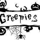 Creepies Sticker by Creepy Creations
