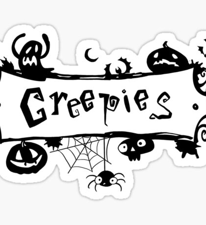 Creepies Sticker Sticker