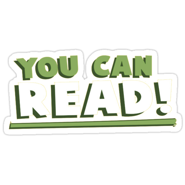 You Can Read! by Bradley Corrigan