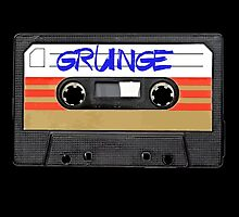 Grunge Music - Cassette Tape by RestlessSoul