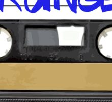 Grunge Music - Cassette Tape Sticker