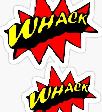 WHACK Sticker