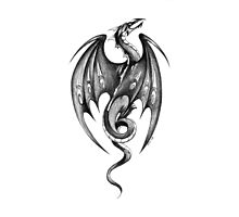 Ink Dragon Photographic Print