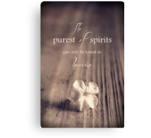 The Purest Of Spirits Canvas Print
