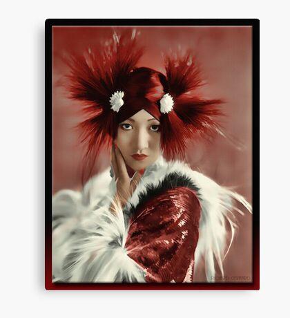 Anna May Wong 1905 - 1961 Canvas Print