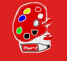 READY TO PAINT    TEE/BABY GROW/STICKER Womens Fitted T-Shirt