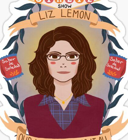 Liz Lemon Sticker