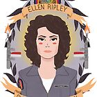 Ellen Ripley by Spencer Salberg