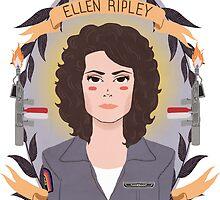 Ellen Ripley by Spencer Salberg