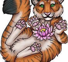 Tiger Lotus by JayneStrange