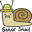 Senor Snail  by CharlieeJ