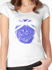 BLUE ZAZZLE 2 TEE/BABY GROW Women's Fitted Scoop T-Shirt