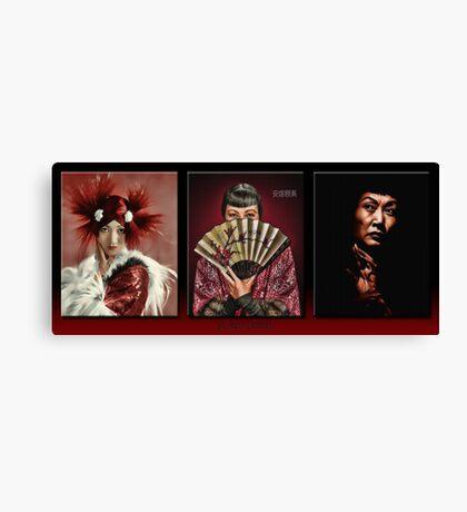 The Anna May Wong Series Canvas Print