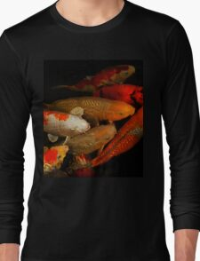 Koi Fish Group Long Sleeve T-Shirt