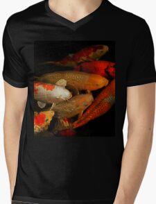 Koi Fish Group Mens V-Neck T-Shirt