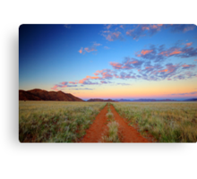Road into the Wilderness Canvas Print