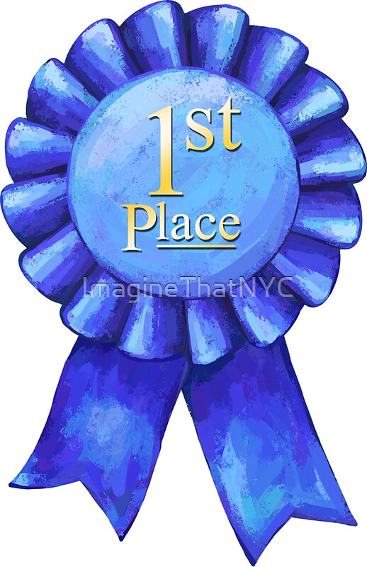 Quot Ribbons 1st Place Quot Stickers By Imaginethatnyc Redbubble