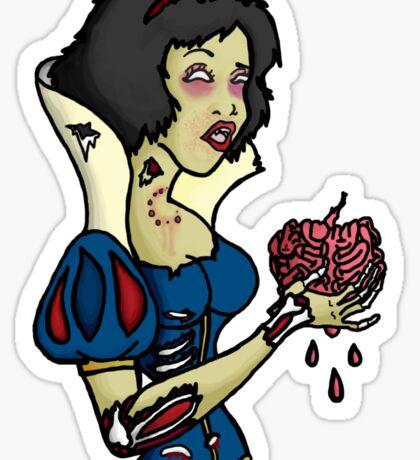 Snow Blight (Zombie Snow White) Sticker