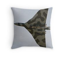 RAF Vulcan. Throw Pillow