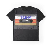 PUNK Music band logo in Cassette Tape Graphic T-Shirt