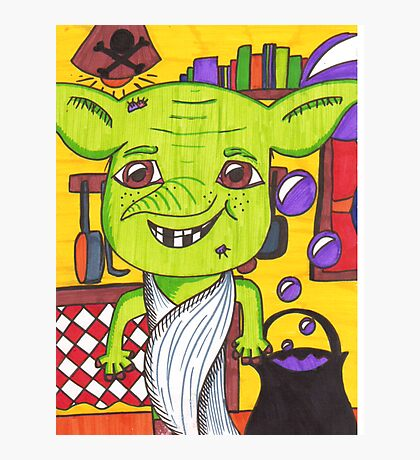 Cheeky House Elf Photographic Print