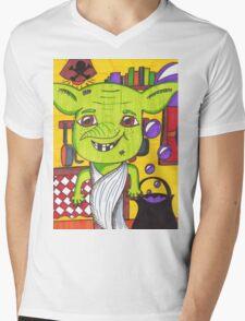 Cheeky House Elf Mens V-Neck T-Shirt