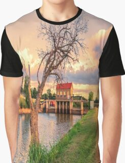 The Tree on the Dam Graphic T-Shirt