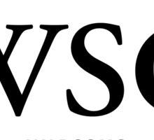 WSG Bumper Sticker Sticker
