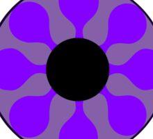 Psychedelic Purple Eye Sticker