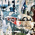 Beirut Street Art (Blue Man) by Drew Gilbert