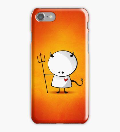 Evil boy iPhone Case/Skin