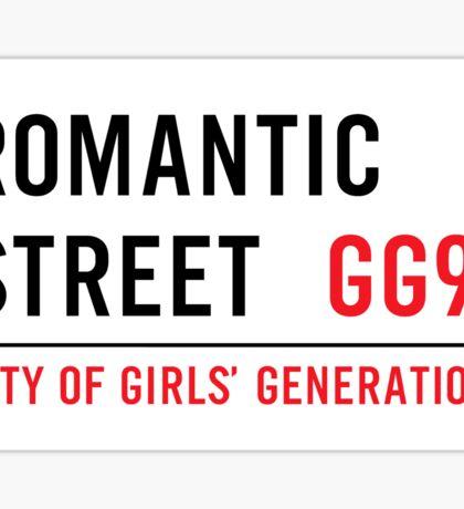 Girls' Generation - Romantic St. Sticker