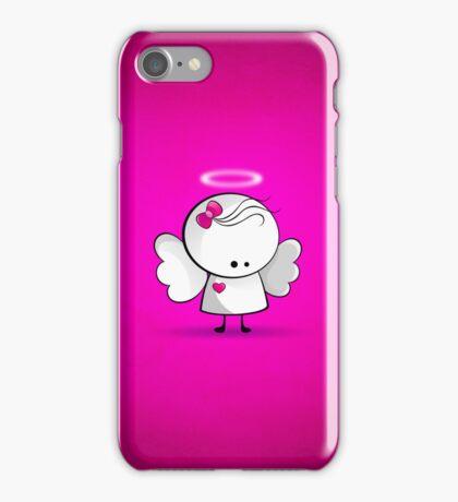 Angel girl iPhone Case/Skin