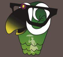 Nerd Bird One Piece - Short Sleeve