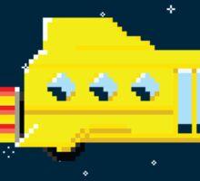 Magic Pixel Bus (Sticker) Sticker