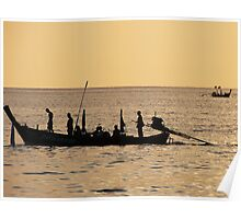 Fishing Boat, Thailand Poster