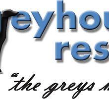 Greyhound Rescue Logo #3 by GreyhoundRescue