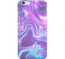 pastel goth swirl iPhone Case/Skin