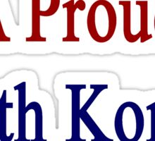 Here Lives A Proud South Korean Family  Sticker