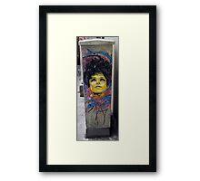 Raval Graffiti Framed Print