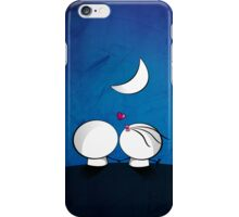 Looking at the moon iPhone Case/Skin