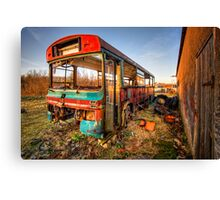 Out of Service Canvas Print