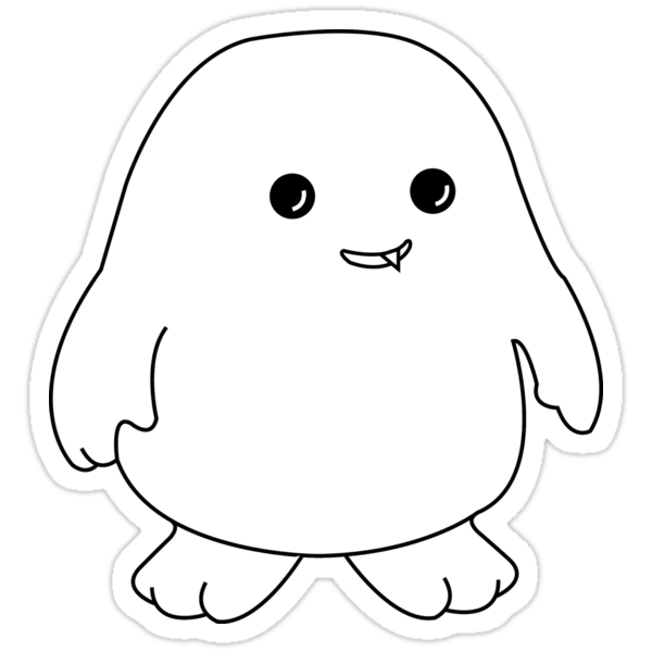 Adipose Sticker by MBWright88