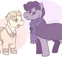 Grumpy Pony by Moriartea-cup