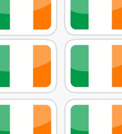 Flags of the World - Republic of Ireland x6 Sticker