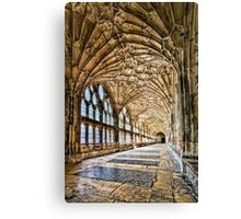 The Long Cloister Canvas Print