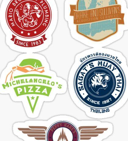 Video Game Sticker Pack Sticker