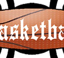 Basketball Tribal Sticker