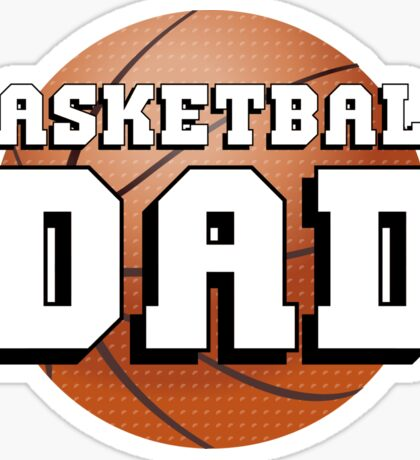 Basketball Dad Sticker